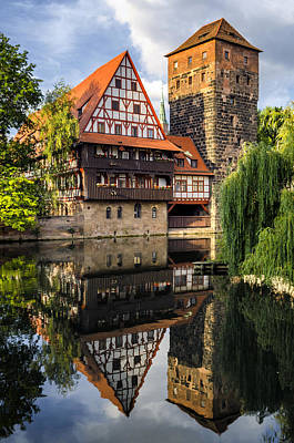 Photograph - Reflections At Nuremberg by Pablo Lopez