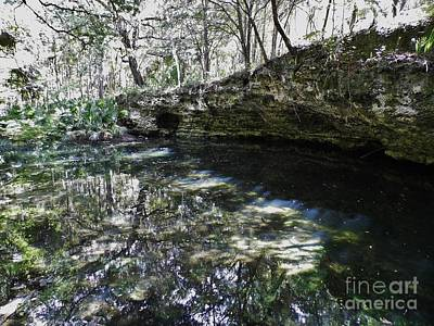 Photograph - Reflections At The Grotto by D Hackett
