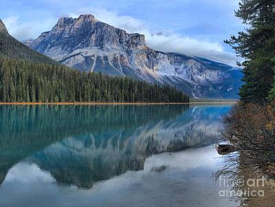 Photograph - Reflections At Yoho National Park by Adam Jewell