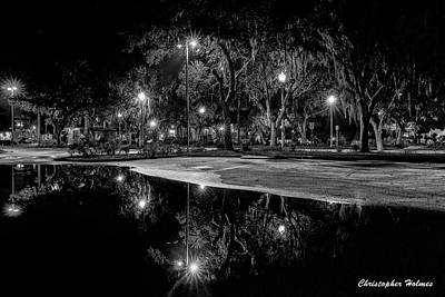 Photograph - Reflections - Bw by Christopher Holmes
