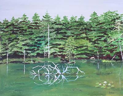 Painting - Reflections by Christine Lathrop