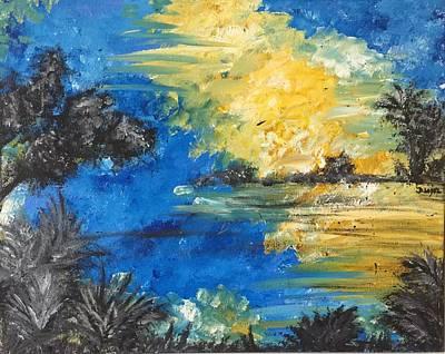 Reflections Art Print by Dayna Lopez