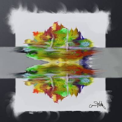 Painting - Reflections  by Eugene Foltuz