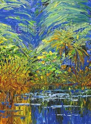 Painting - Reflections by Felicia Weinstein