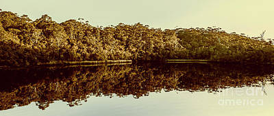 Panorama Wall Art - Photograph - Reflections From Cockle Creek  by Jorgo Photography - Wall Art Gallery