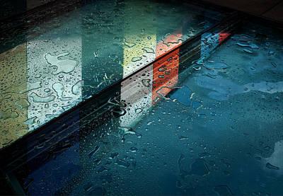 Drop Photograph - Reflections by Henk Van Maastricht