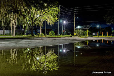 Photograph - Reflections II by Christopher Holmes