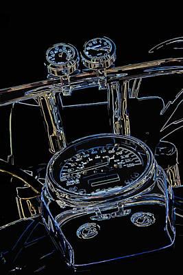 Digital Art - Reflections II by Ricky Barnard