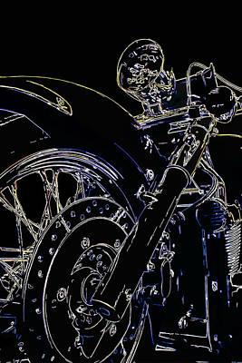 Digital Art - Reflections IIi by Ricky Barnard
