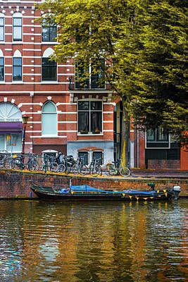 Photograph - Reflections In Amsterdam by Debra and Dave Vanderlaan