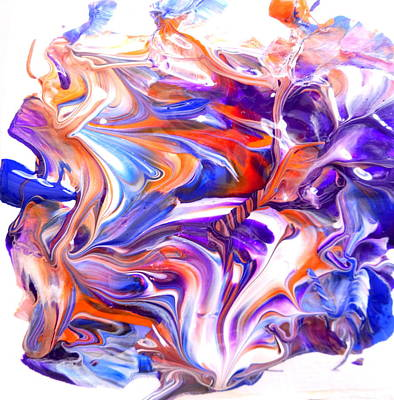 Painting - Reflections In Chrome by Fred Wilson