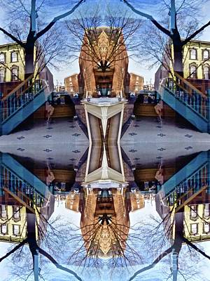 Photograph - Reflections In Frederick, Maryland by Debra MacNealy