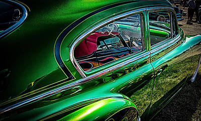 Reflections In Green Art Print by Jay Stockhaus