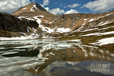 Photograph - Reflections In Helen Lake - Banff National Park by Adam Jewell