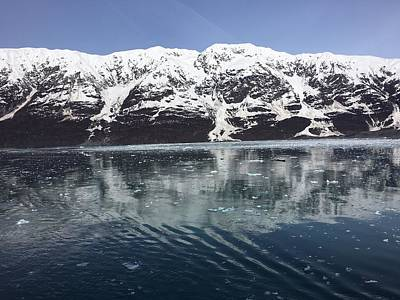 Reflections In Icy Point Alaska Art Print