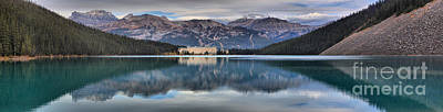 Photograph - Reflections In Lake Louise by Adam Jewell