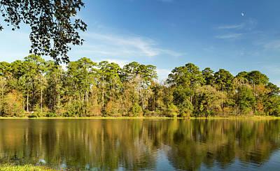 Photograph - Reflections In Lake Raven by Bonnie Davidson
