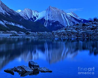 Photograph - Reflections In Medicine Lake by Adam Jewell