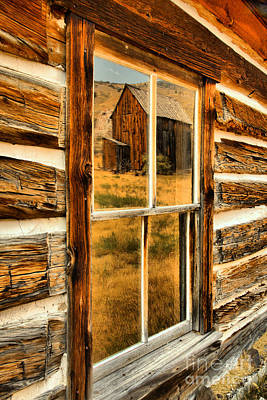 Photograph - Reflections In Montana Gold Mining History by Adam Jewell