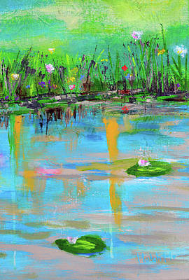Painting - Reflections In Spring by Haleh Mahbod