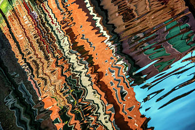 Photograph - Reflections In The Canal_dsc4762_03032017  by Greg Kluempers