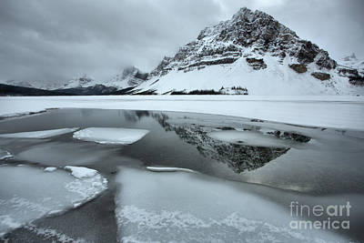 Photograph - Reflections In The Icebergs by Adam Jewell