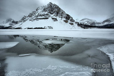 Photograph - Reflections In The Icy Curves by Adam Jewell
