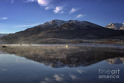 Photograph - Reflections In The Loch by Lynn Bolt