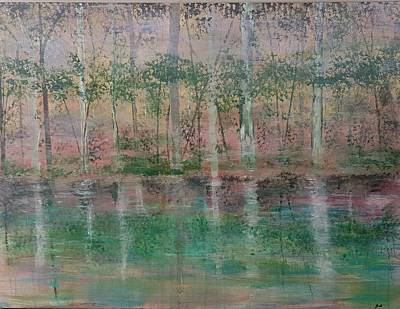 Painting - Reflections In The Mist by Judi Goodwin