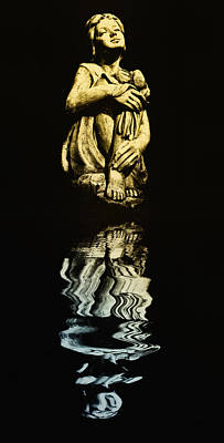 Reflections In The Moonlight Art Print by Bill Cannon