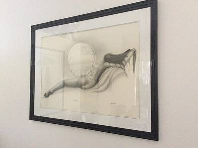 Master Piece Drawing - Reflections by Jay DePalma