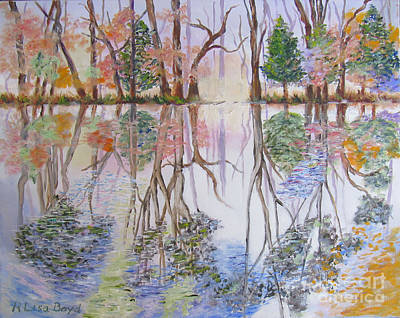 Painting - Reflections by Lisa Boyd