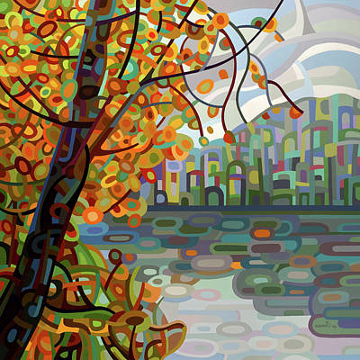 Painting - Reflections by Mandy Budan