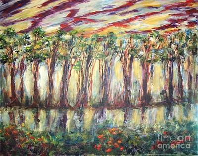 Painting - Reflections by Mary Sedici