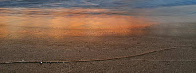 Sunset Photograph - Reflections by Michael Peychich