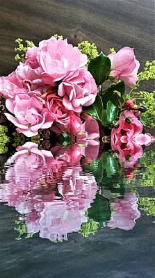 Digital Art - Reflections by Nancy Pauling