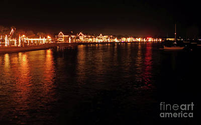 Photograph - Reflections Night Of Lights by D Hackett