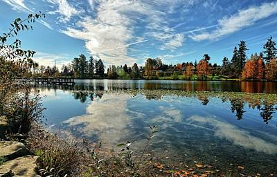 Wapato Photograph - Reflections Of A Day Gone By by Tim Coleman