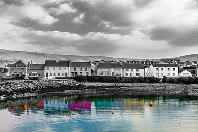 Portmagee Wall Art - Photograph - Reflections Of A Past by W Chris Fooshee