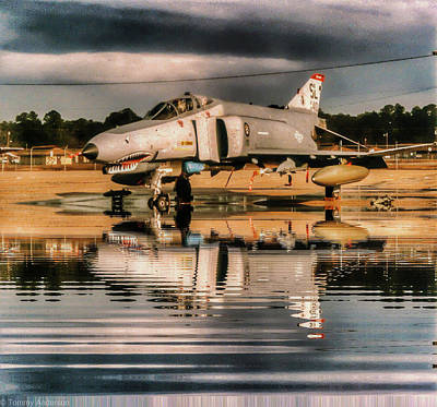 F-4c Photograph - Reflections Of A Phantom by Tommy Anderson