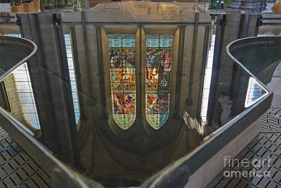 Miles Davis - Reflections of a Stained Glass Window by Terri Waters