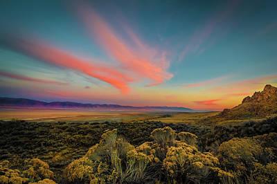 Reflections Of A Sunset Unseen Art Print