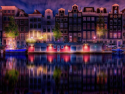 Photograph - Reflections Of Amsterdam by Chiel Koolhaas