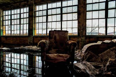 Photograph - Reflections Of Another Time by John Hoey
