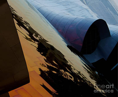 Abstract Airplane Art - Reflections of Another World by Mike Dawson