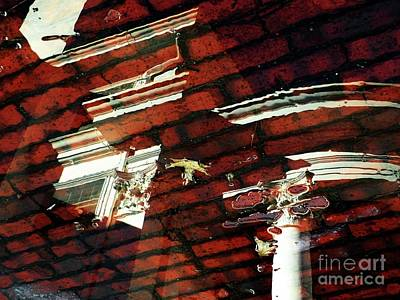 Sterling Photograph - Reflections Of Arbor Lodge by Christine Belt