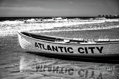 Photograph - Reflections Of Atlantic City by John Rizzuto