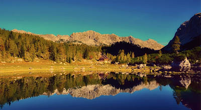 Photograph - Reflections Of Autumn by Ales Krivec