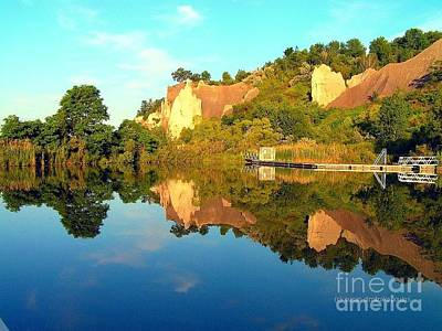 Photograph - Reflections Of Bluffer's Park by Susan  Dimitrakopoulos