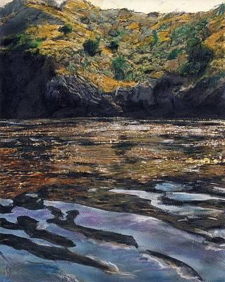 Reflections Of Catalina Art Print